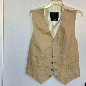 Vintage Favourbrook Gold Silk Vest